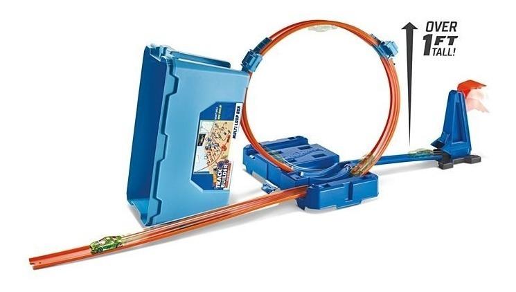 Acrobacias Multilooping De Pista Hot Wheels Rulo Mattel Caja vYfb7gy6
