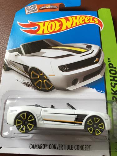 hot wheels camaro convertible concept