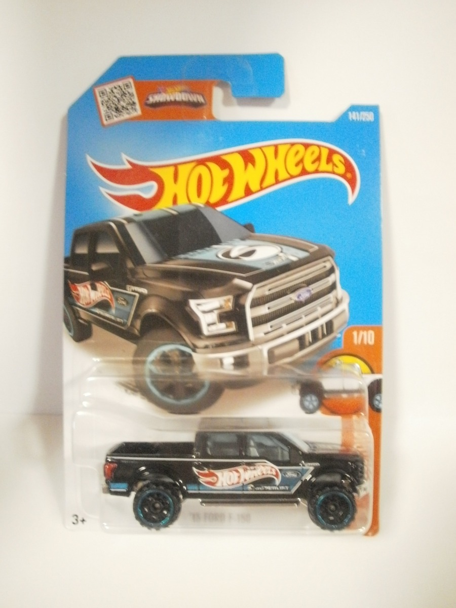 Hot Wheels Camioneta 15 Ford F-150 Negro 141/250 2016 ...