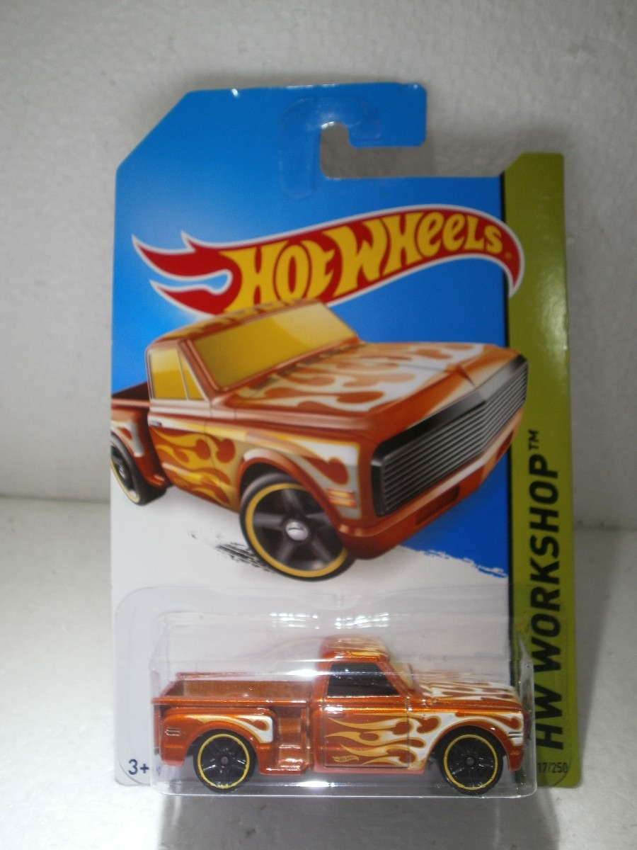 Hot Wheels Camioneta Custom 69 Chevy Pickup 217  250 2014