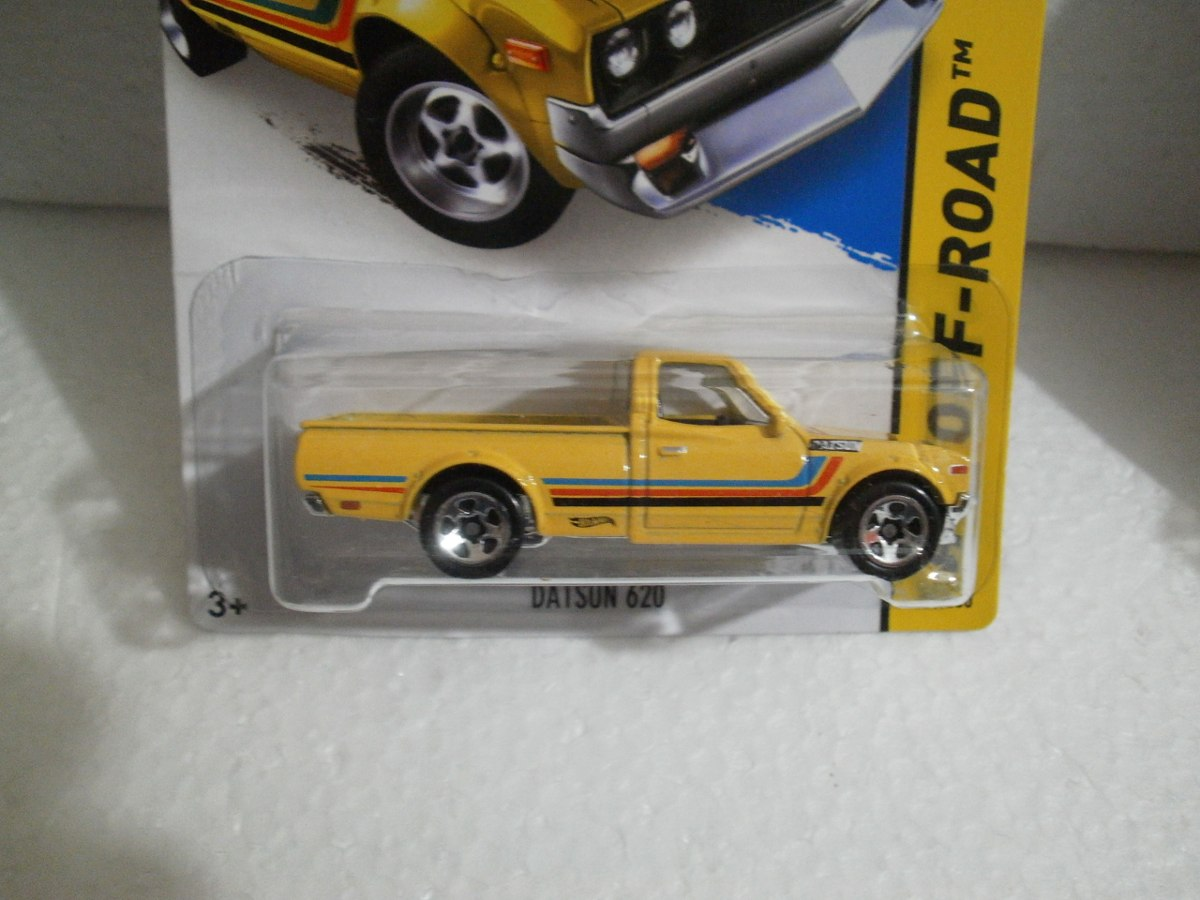 Hot Wheels Camioneta Datsun 620 Amarillo 125/250 2015 ...