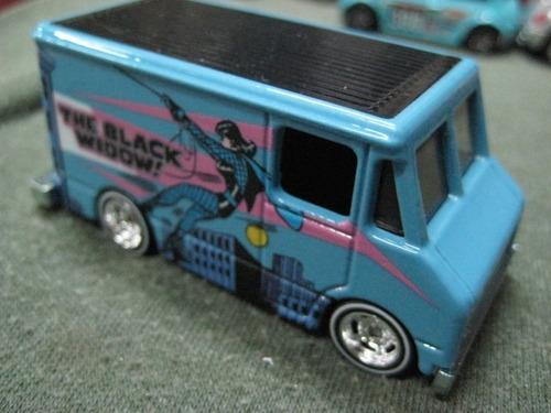hot wheels - camioneta viuda negra primera serie 1976