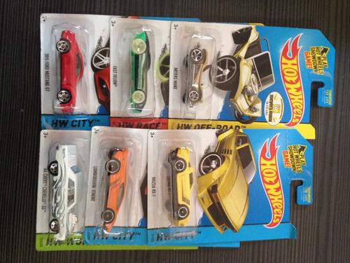 hot wheels carritos nuevos varios (unidad) (5t)