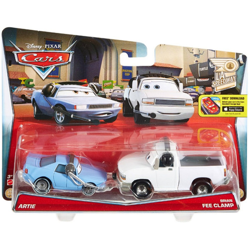 hot wheels - carros 2 - artie e brian fee clamp