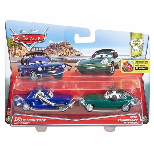 hot wheels - carros 2 brent mustangburger e david hobbscapp