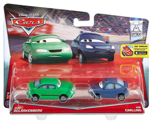hot wheels - carros 2 - dan sclarkenberg e kim carllins