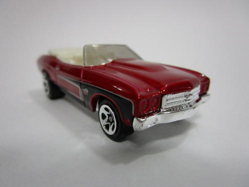 hot wheels  chevrolet chevelle ss edic 1998 7cm largo nuevo