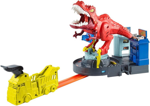 hot wheels - city dinosaurio t-rex - mattel gfh88