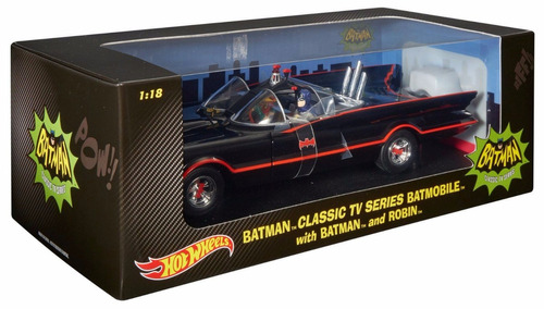 hot wheels classic tv srs batimovil c batman robin bunnytoys