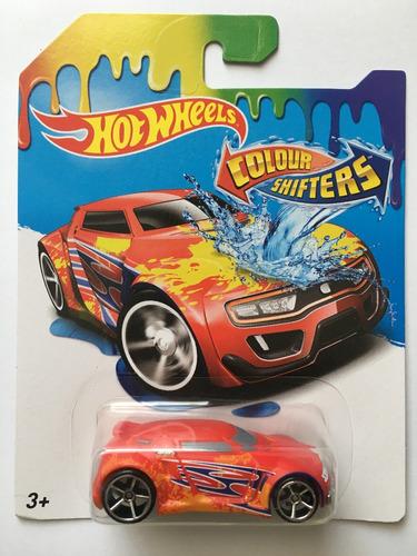 hot wheels color shifters 2017 cambian de color caja de 16u