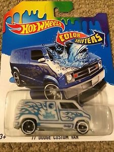 hot wheels color shifters 77 dodge custom van