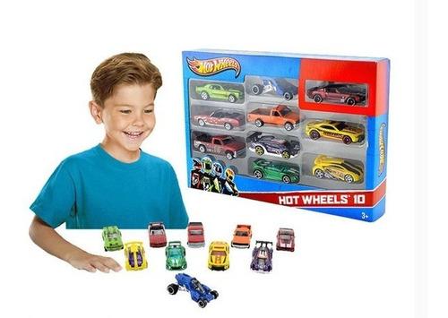 hot wheels combo autos x 10 unidades original mattel 1:64