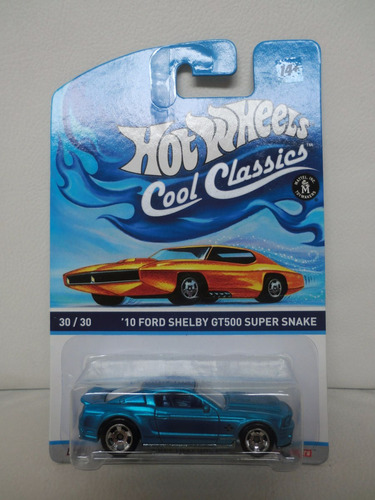 hot wheels cool classics 1:64 -  2010 ford shelby gt500