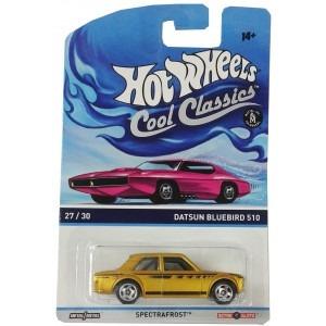 hot wheels cool classics - 1:64 datsun bluebird 510