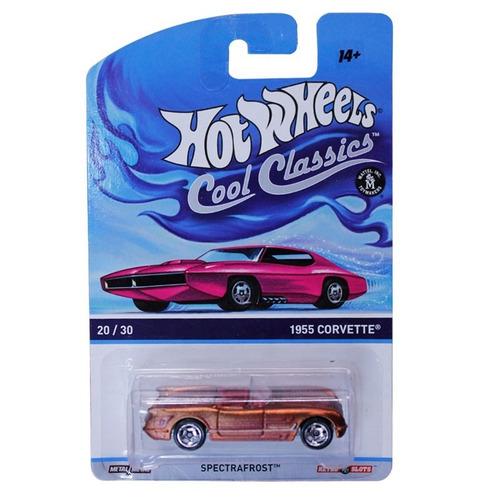 hot wheels cool classics 1955 corvette 20/30 mattel