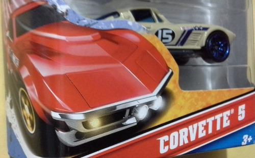 hot wheels corvette 5 pack 100% original escala 1/64 (16)