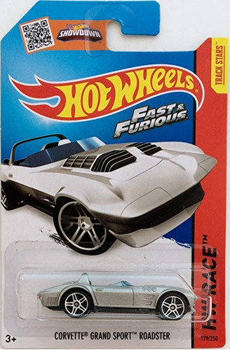 hot wheels corvette grand sport roadster / fast furious