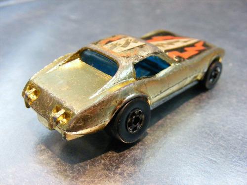 hot wheels - corvette stingray de 1979  m.i. hong kong