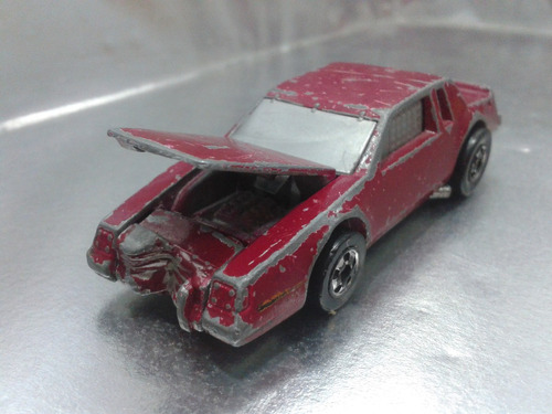 hot wheels - crack ups hood basher de 1985 hong kong