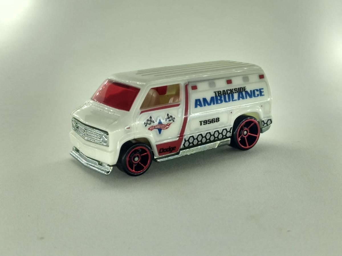 Bone Passion Die Cast Miniaturas Hot Wheels Custom 77 Dodge Van Loose R 23 00
