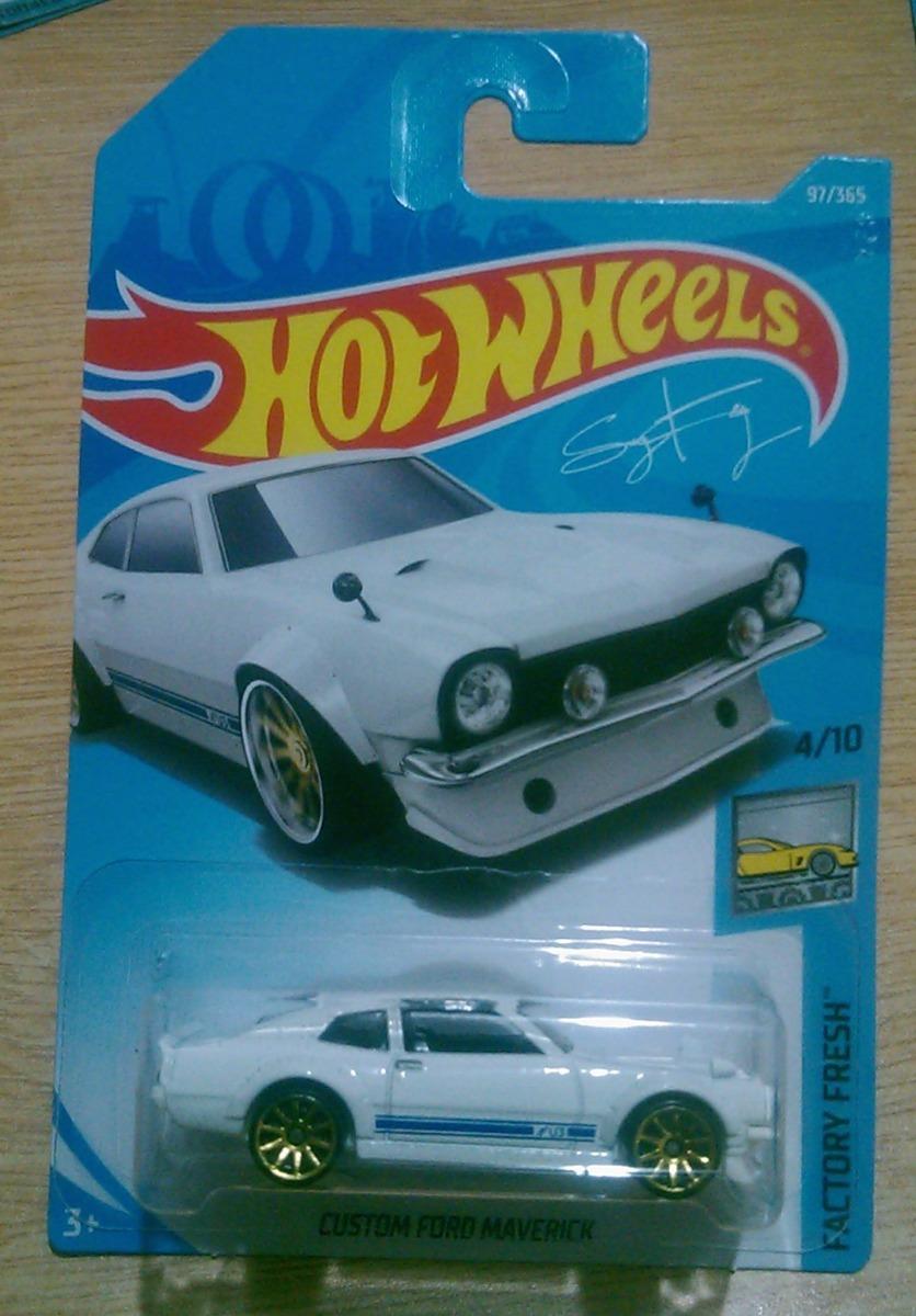 Hot Wheels Custom Ford Maverick 1a Edicion Blanco 2018 59 00 En