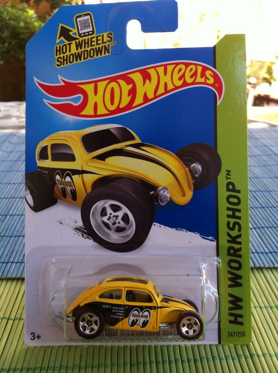 Hot Wheels Custom Volkswagen Beetle (vocho) - $ 40.00 en Mercado Libre