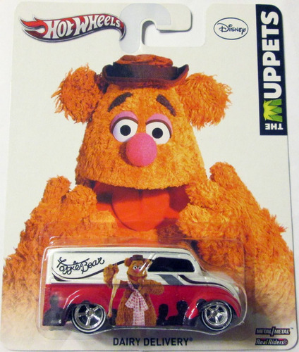 hot wheels dairy delivery the muppets ruedas/goma e:1/64