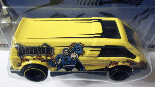 hot wheels dc comics darkseid dream van xgw, ruedas de goma.