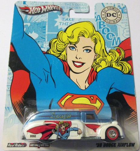 hot wheels dc comics supergirl '38 dodge airflow, r/goma.