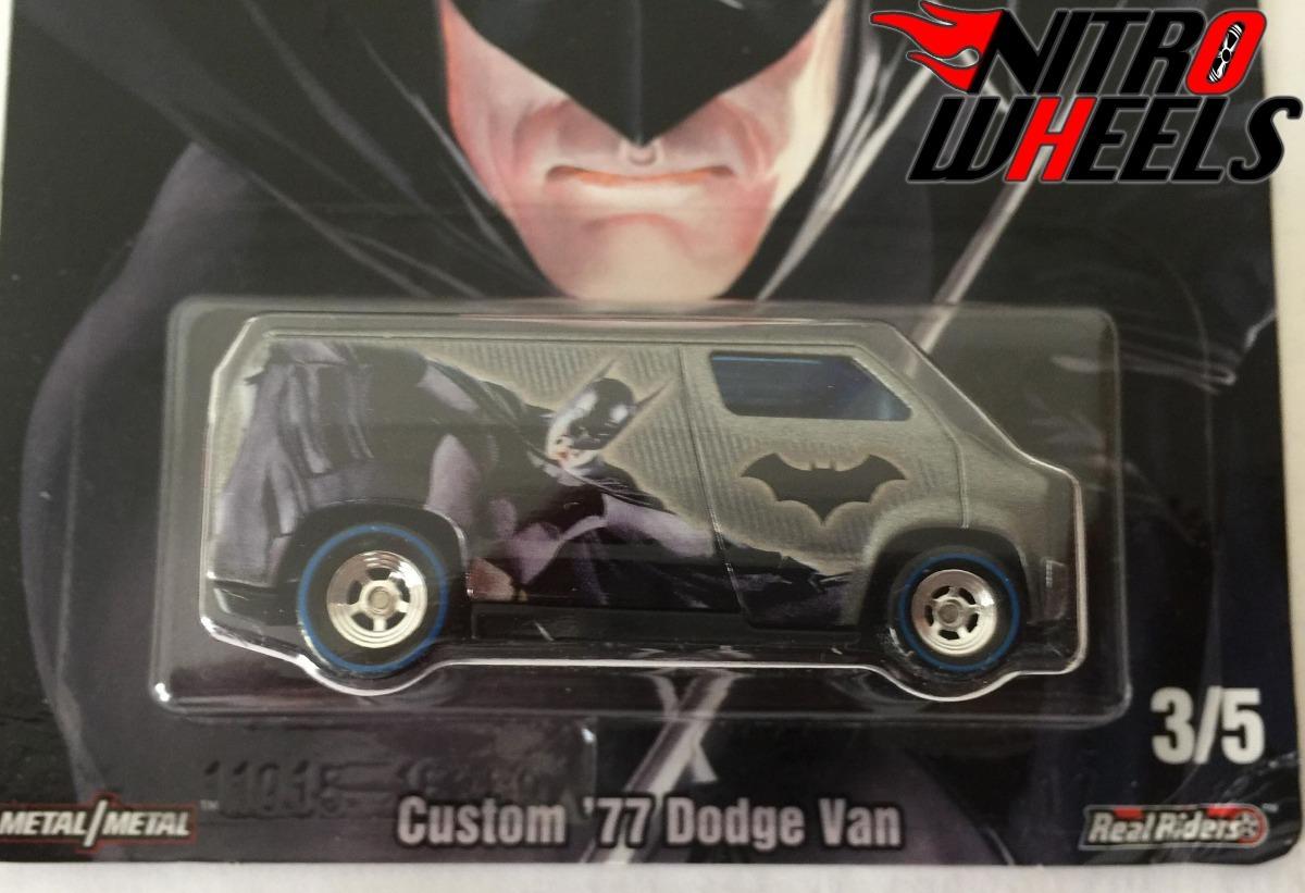 e0b1204938 Hot Wheels Dc Custom 77 Dodge Van Batman Real Riders -   150.00 en ...