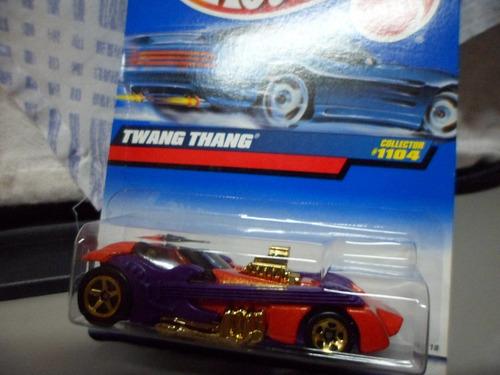 hot wheels de 1999 twang thang novo