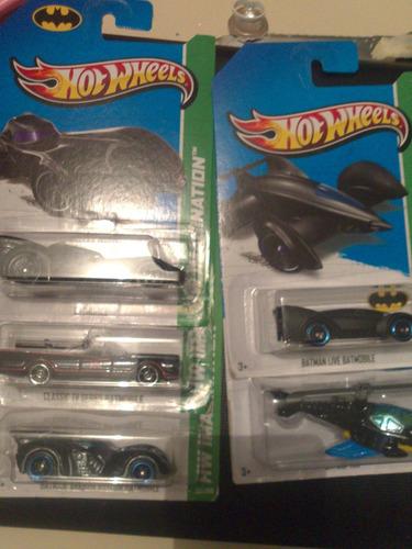 hot wheels de coleccion 2013 serie batimovil basicos bvf