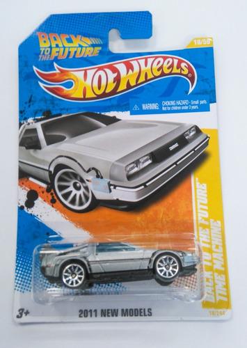 hot wheels delorean back to the future time machine 2011