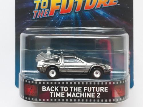 hot wheels delorean back to the future time machine