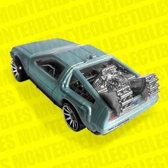 hot wheels delorean volver al futuro light speeders