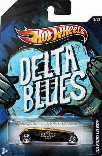 hot wheels delta blues 33 ford lo boy 1:64 y9368 - mattel