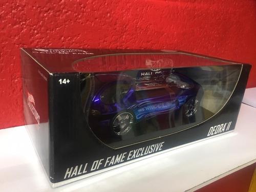 hot wheels deora ii edicion de lujo hall of fame escala 1/18