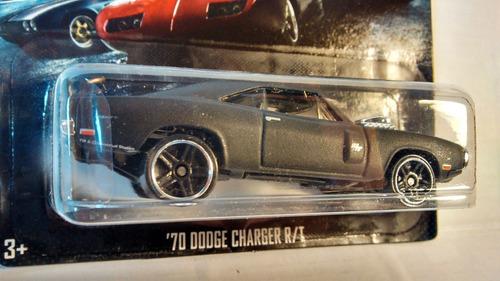 hot wheels dodge charger rt de los 70´s de fast & furious