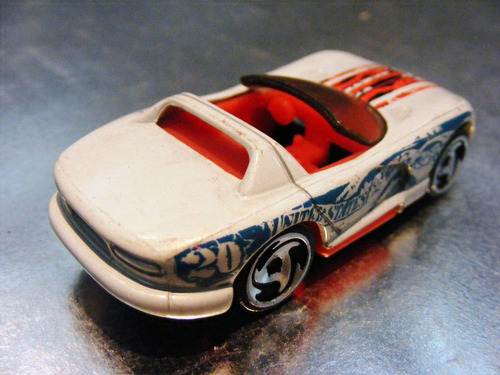 hot wheels - dodge viper rt/10 de 1998