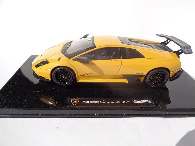 Hot Wheels Elite 1 43 Lamborghini Murcielago Lp 670 Sv R 150