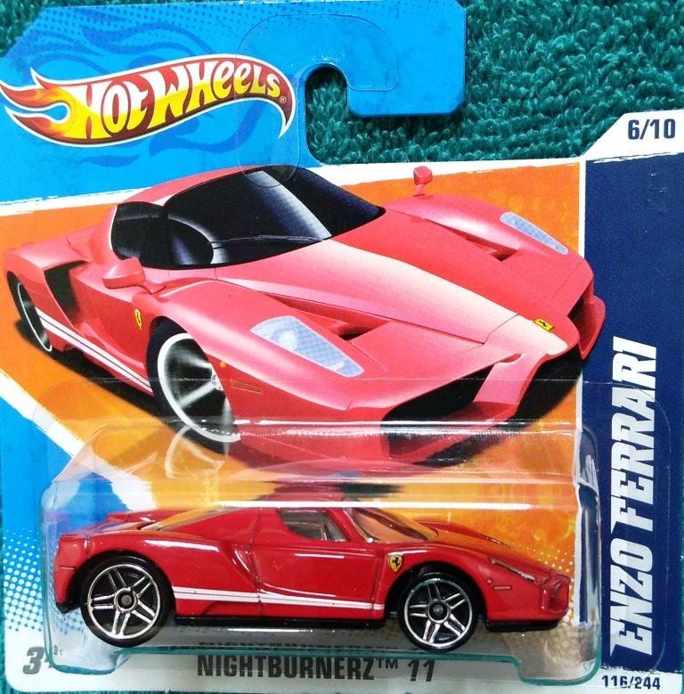 hot wheels enzo ferrari - $ 235.00 en mercado libre