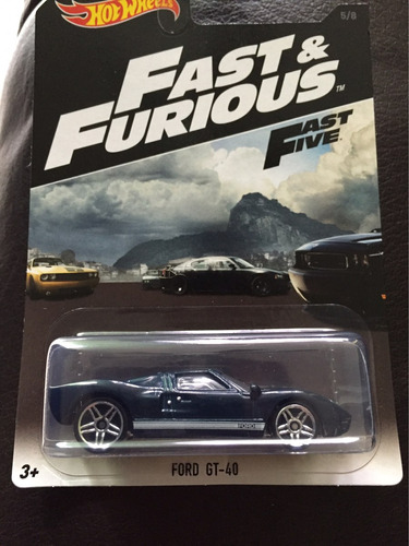 hot wheels fast & furious 2016 ford gt