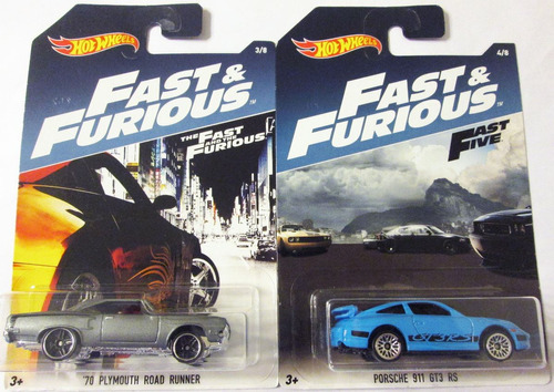 hot wheels fast & furious rápido y furioso set completo