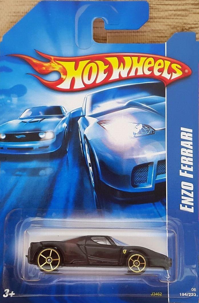 Hot Wheels Ferrari 2006 Enzo Ferrari Black 194223 49800 En