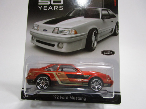 hot wheels ford mustang 1992 50 years t6