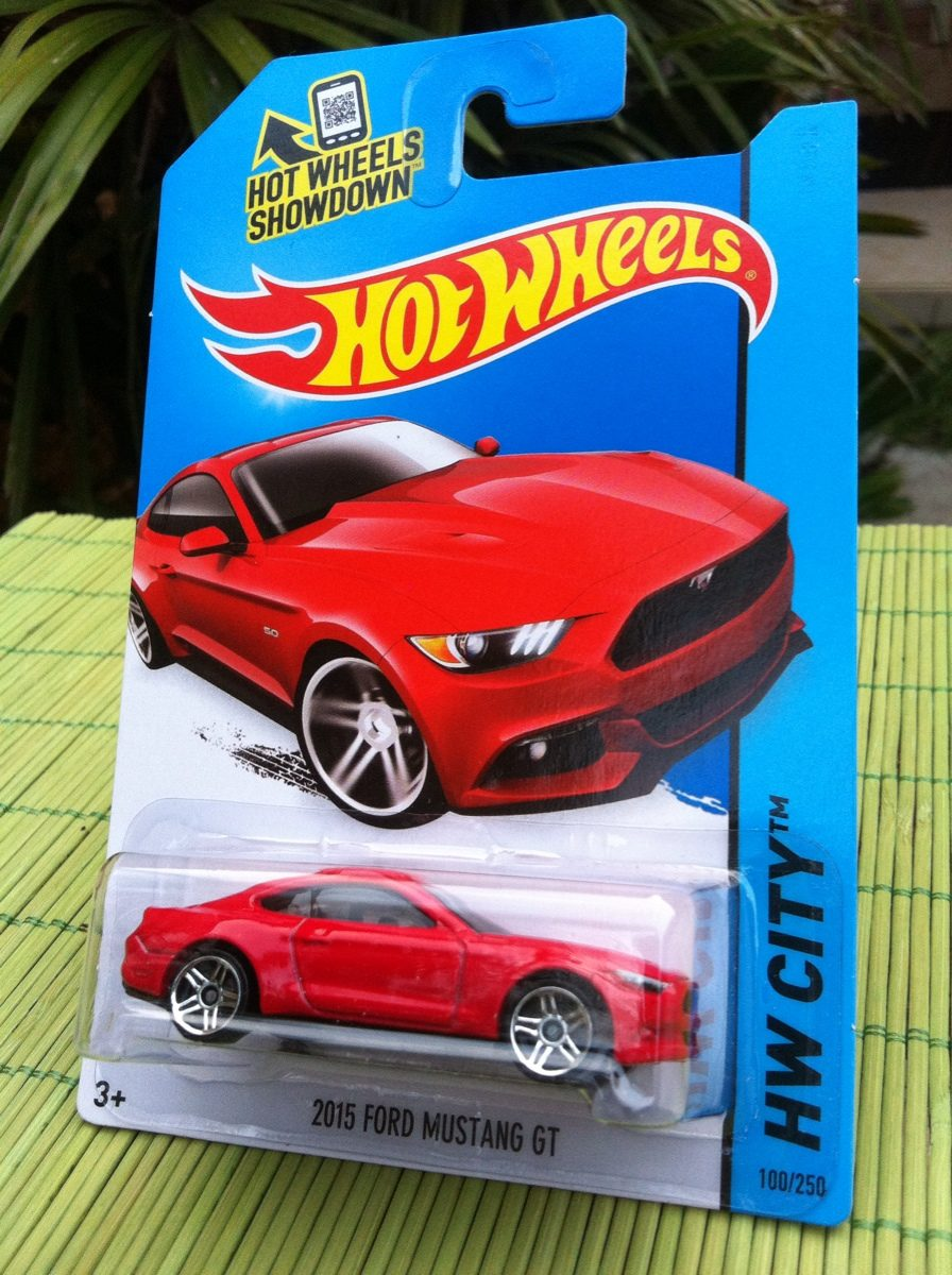 Hot Wheels Ford Mustang 2015 Gt - $ 35.00 en Mercado Libre