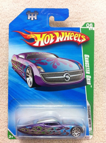 hot wheels - gangster grin - t-hunt