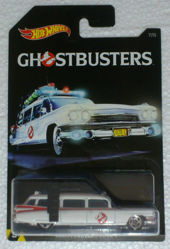 hot wheels ghostbusters ecto-1 cazafantasmas 7/8 2016