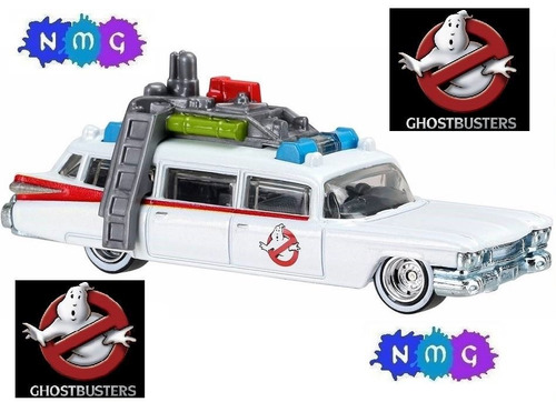 hot wheels ghostbusters ecto-1 cazafantasmas nmg!!
