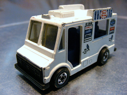 hot wheels - good humor truck de 1984 malaysia 1a edic. #2